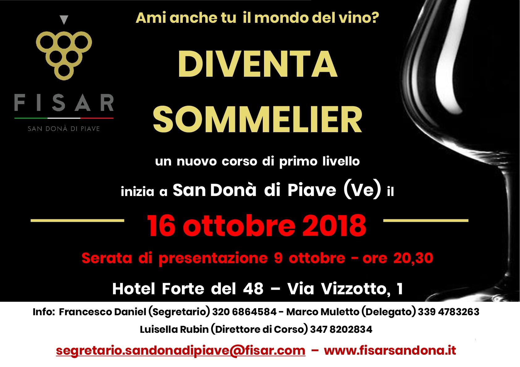 Corso I° livello San Donà di Piave 2018