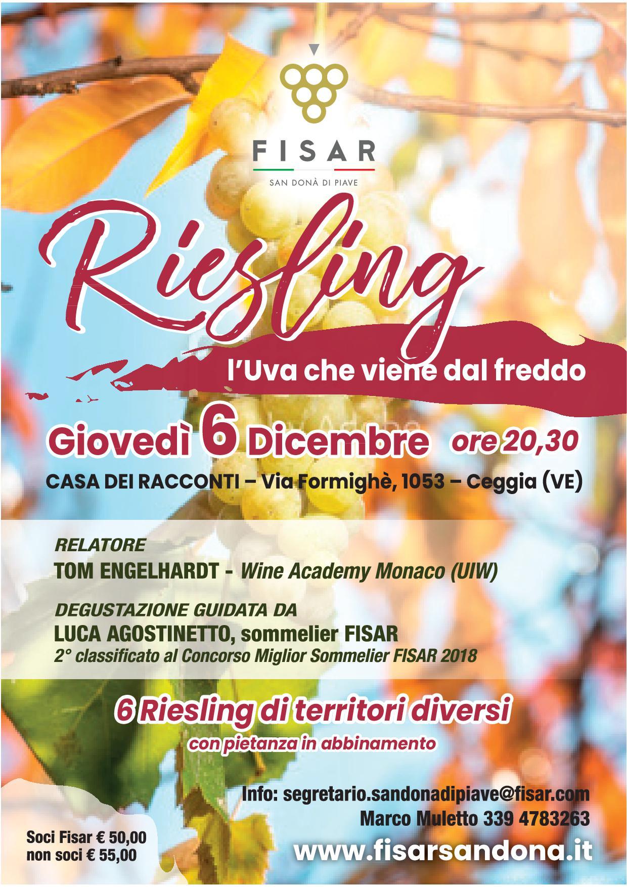 Riesling – l'uva che viene dal freddo