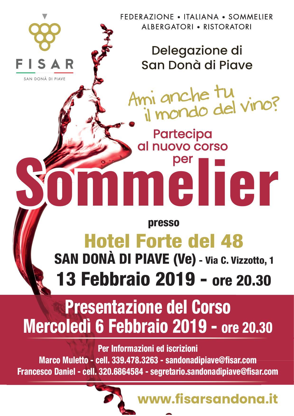 Corso I° livello San Donà di Piave 2019