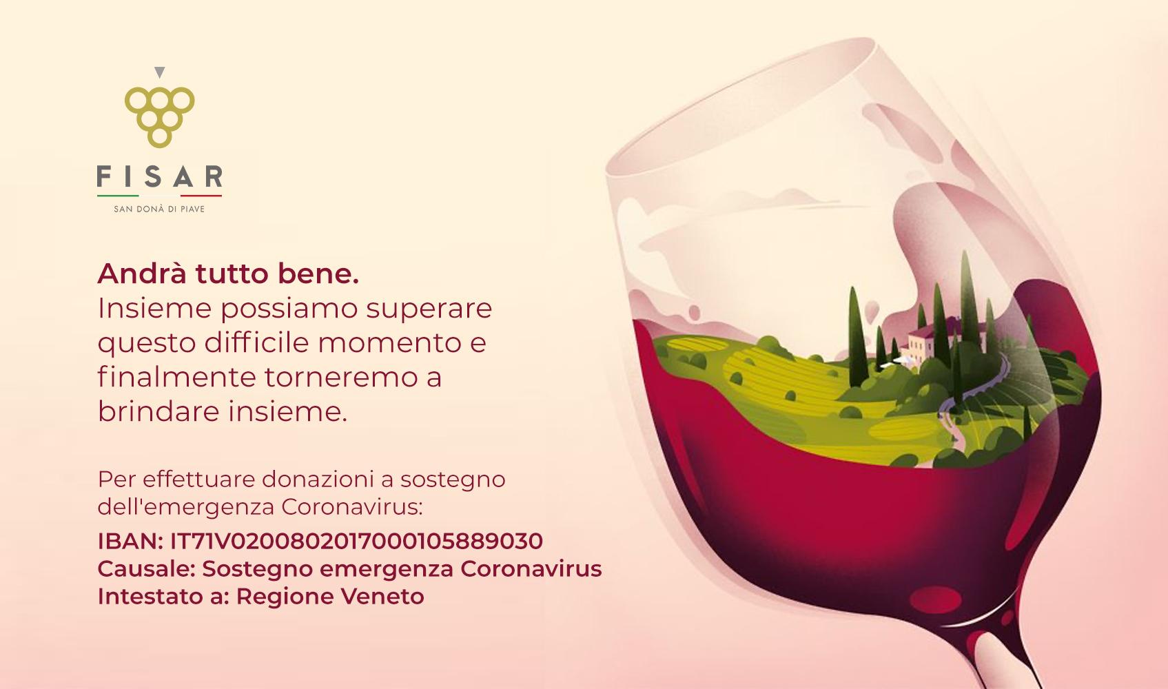 Donazione a sostegno dell'emergenza contro il Coronavirus